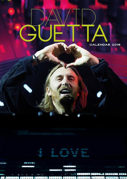 Calendário 2017 David Guetta