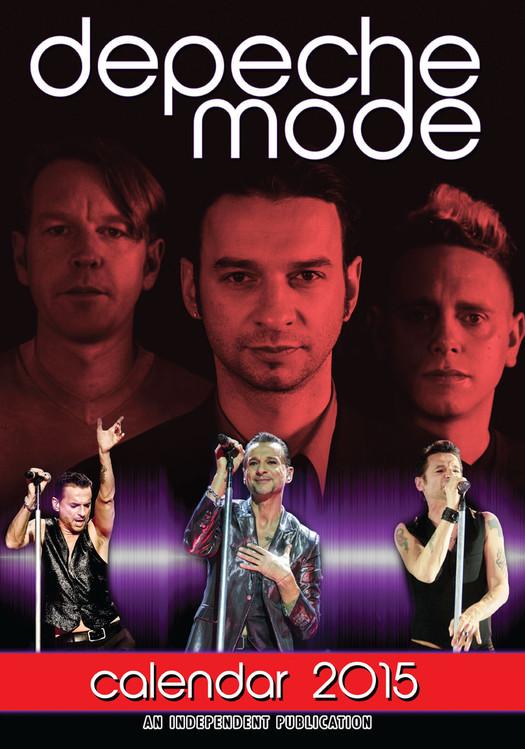 Calendário 2017 Depeche Mode