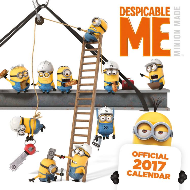 Calendário 2017 Despicable me