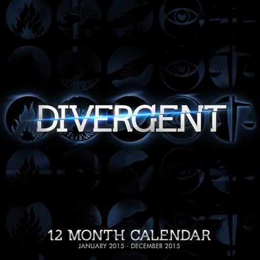 Calendário 2018 Divergent