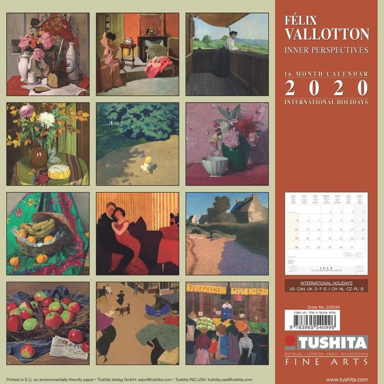 Calendario Kinder 2020.Calendario 2020 Felix Vallotton