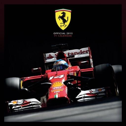 Calendário 2017 FERRARI F1