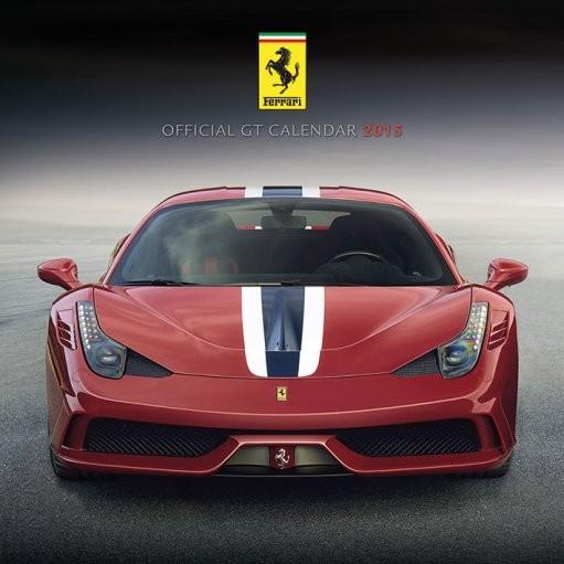 Calendário 2018 Ferrari GT