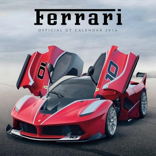 Calendário 2017 Ferrari GT