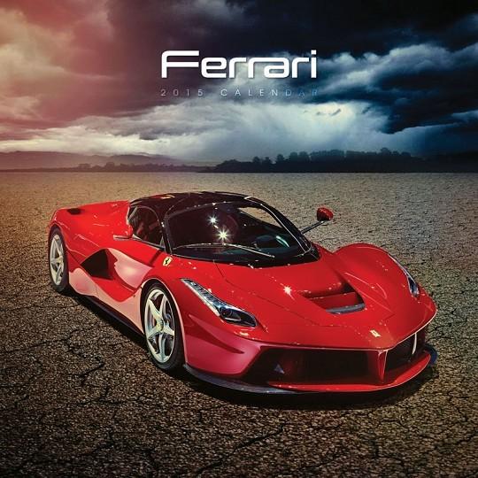 Calendário 2017 Ferrari