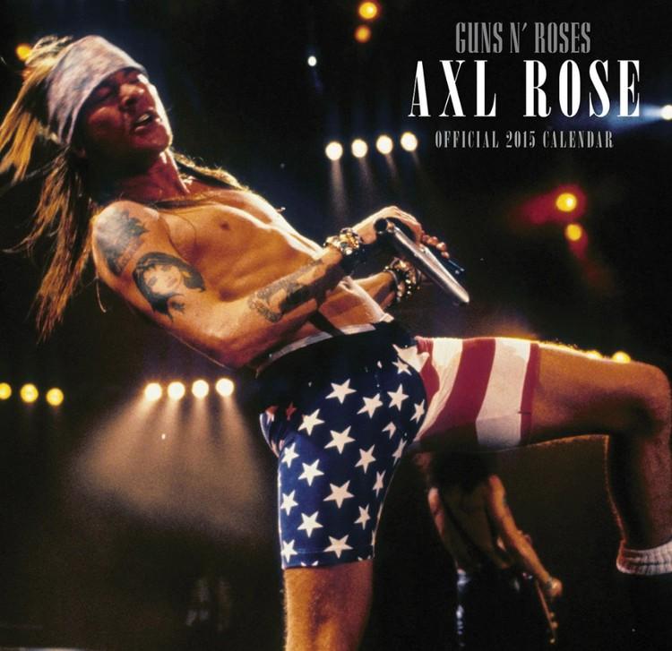 Calendário 2017 Guns N' Roses
