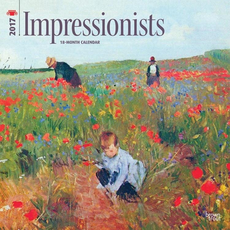 Calendário 2017 Impressionists