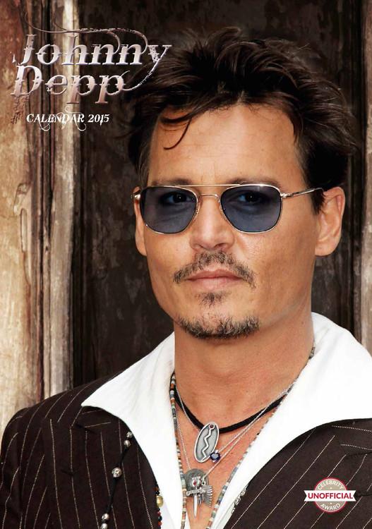 Calendário 2017 Johnny Depp