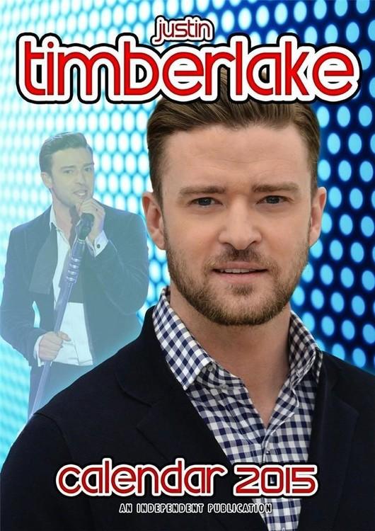 Calendário 2017 Justin Timberlake