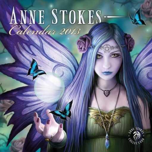 Calendário 2017 Kalendář 2013 - ANNE STOKES