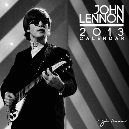 Calendário 2017 Kalendář 2013 - JOHN LENNON