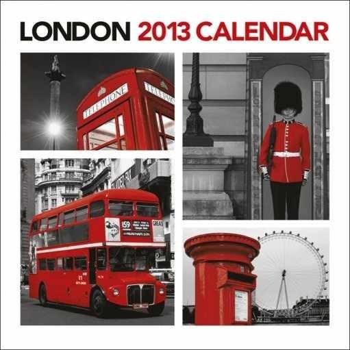 Calendário 2017 Kalendář 2013 - LONDON