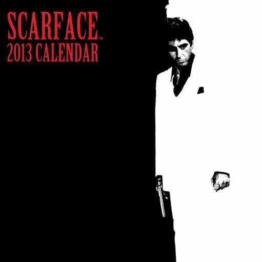 Calendário 2017 Kalendář 2013 - SCARFACE