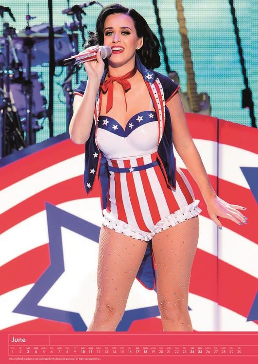 Calendário 2018  Katy Perry