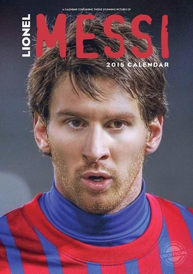 Calendário 2017 Lionel Messi