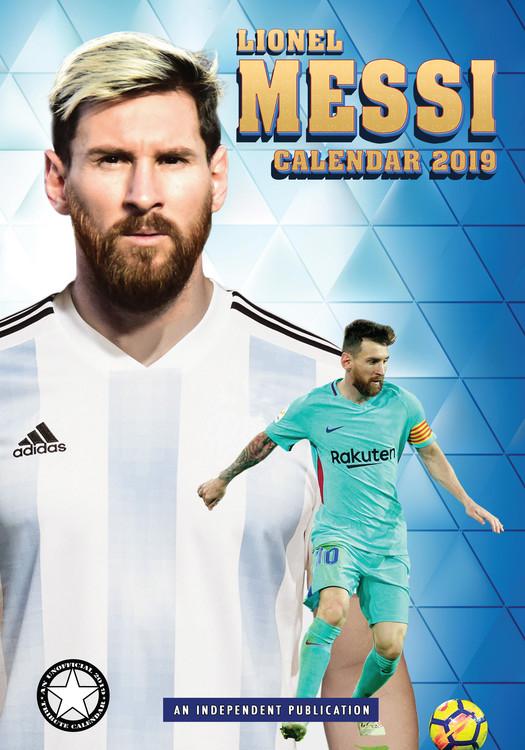 Calendário 2019  Lionel Messi