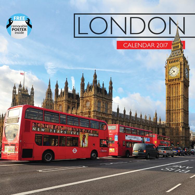 Calendário 2017 London