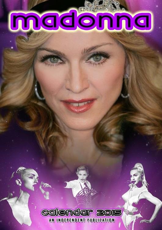 Calendário 2017 Madonna