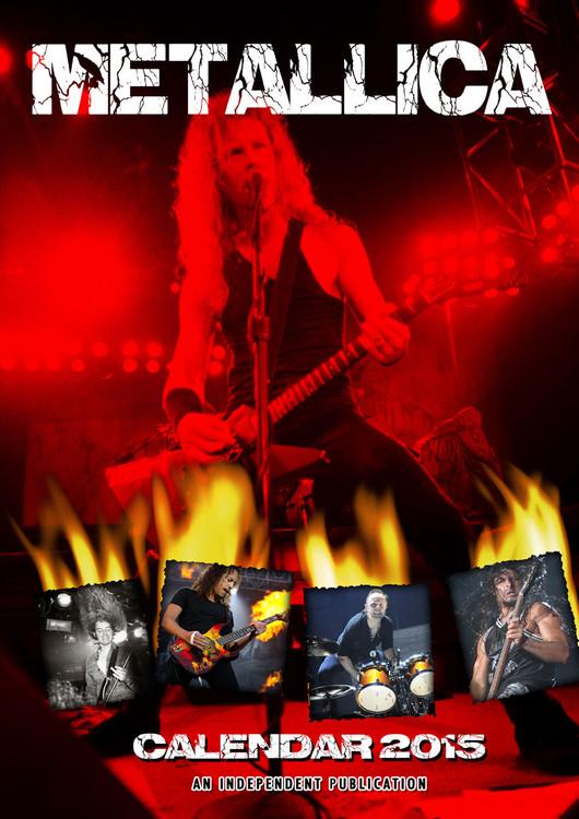 Calendário 2018 Metallica