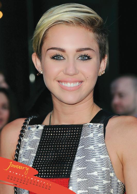 Calendário 2019  Miley Cyrus