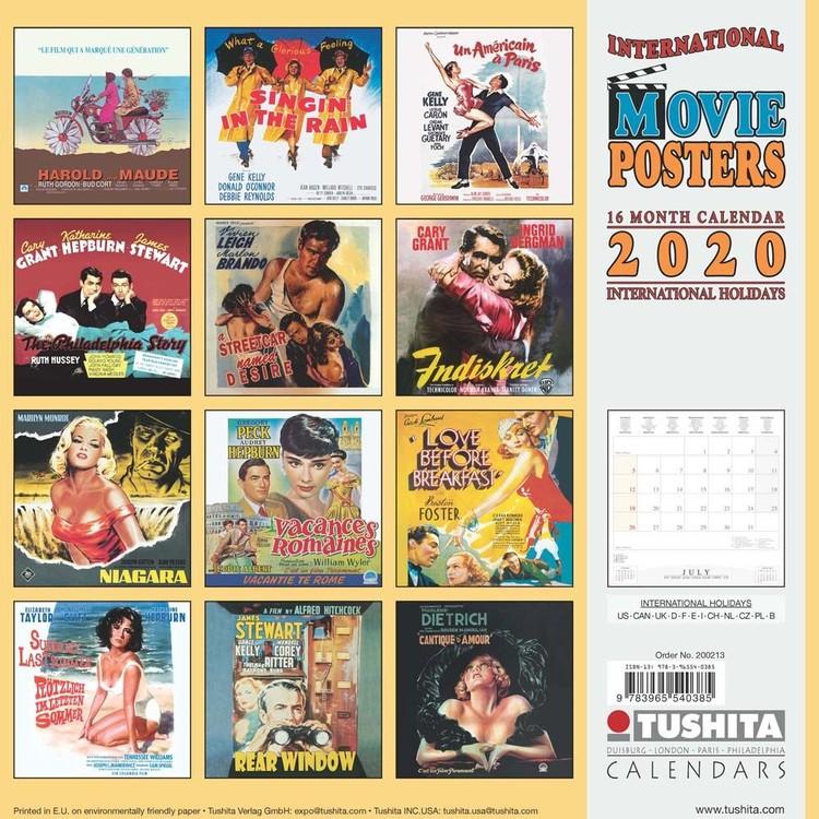 Poster Calendario 2020.Calendario 2020 Movie Posters