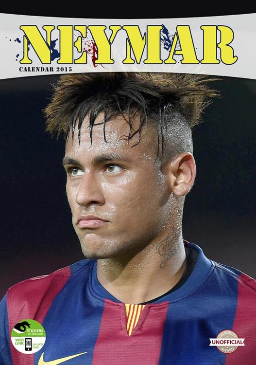 Calendário 2017 Neymar