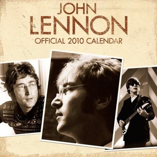 Calendário Official Calendar 2010 John Lennon