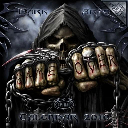 Calendário 2017 Official Calendar 2010 Spiral
