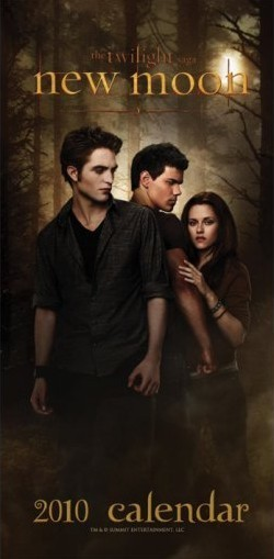 Calendário 2017 Official Calendar 2010 Twilight New Moon 16x35