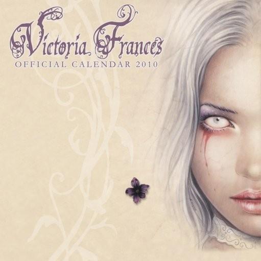 Calendário 2017 Official Calendar 2010 Victoria Frances