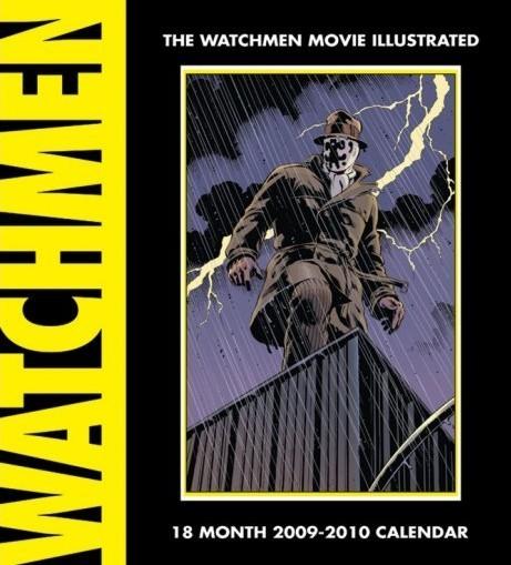 Calendário 2017 Official Calendar 2010 Watchmen