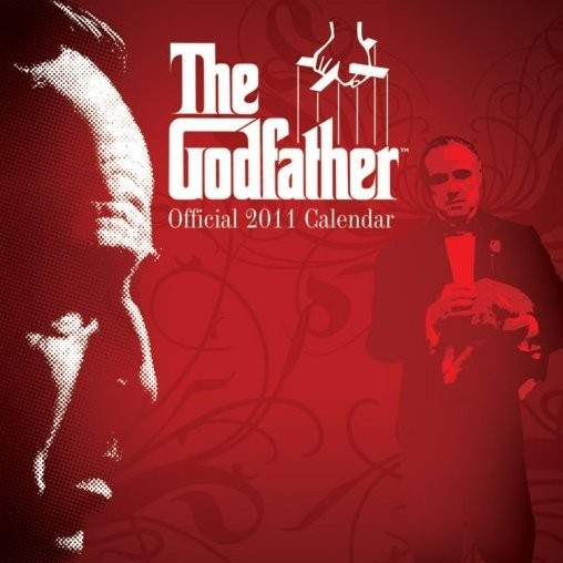 Calendário 2017 Official Calendar 2011 - THE GODFATHER
