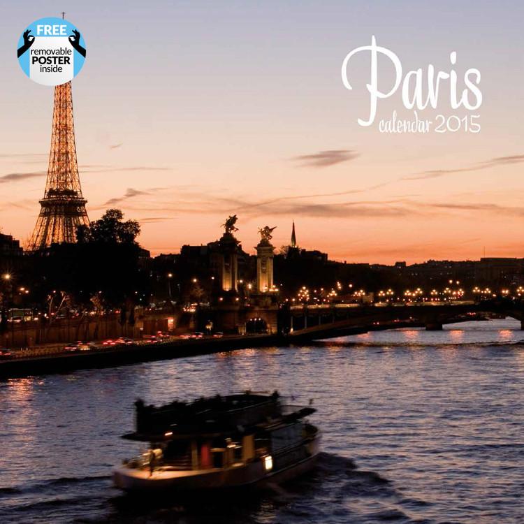Calendário 2017 Paris