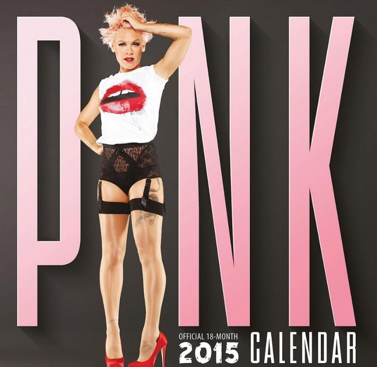 Calendário 2017 Pink - P!NK