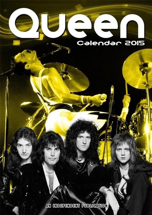 Calendário 2017 Queen