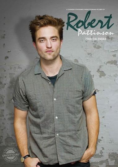 Calendário 2017 Robert Pattinson
