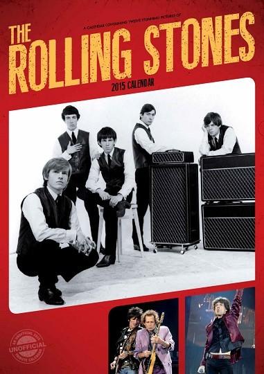 Calendário 2017 Rolling Stones