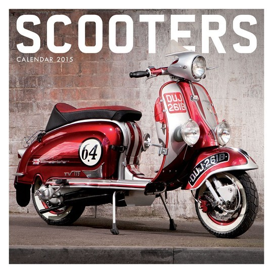 Calendário 2017 Scooter
