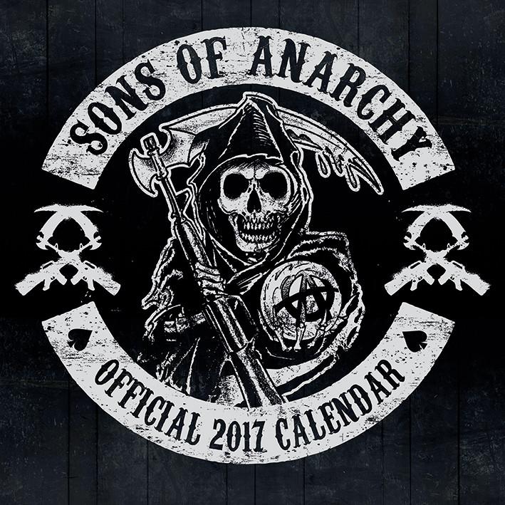 Calendário 2017 Sons of Anarchy