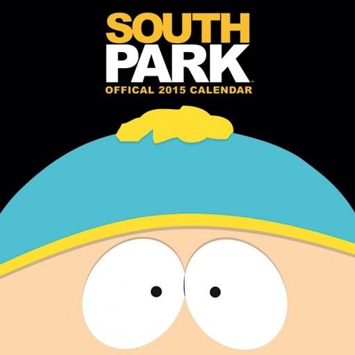 Calendário 2017 South Park