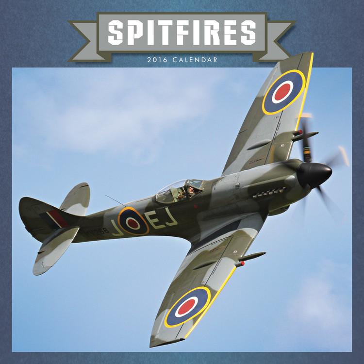 Calendário 2017 Spitfire
