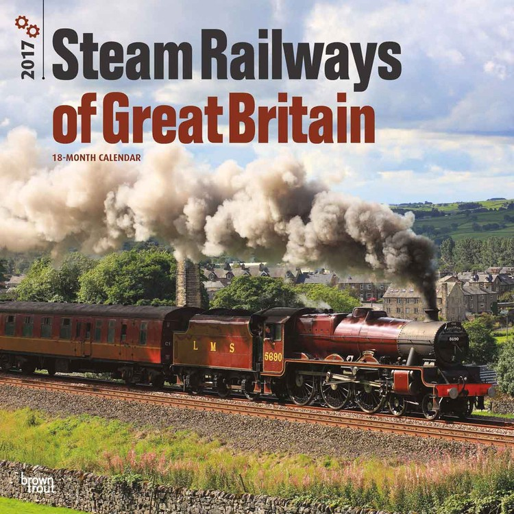 Calendário 2018 Steam Railways of Great Britain