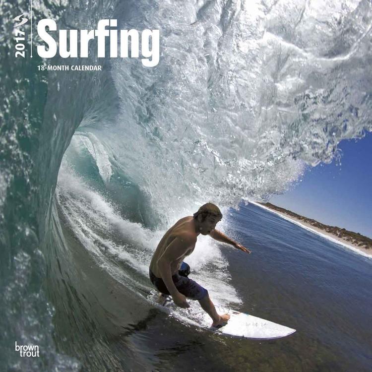Calendário 2017 Surfing
