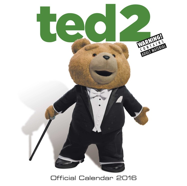 Calendário 2017 Ted 2