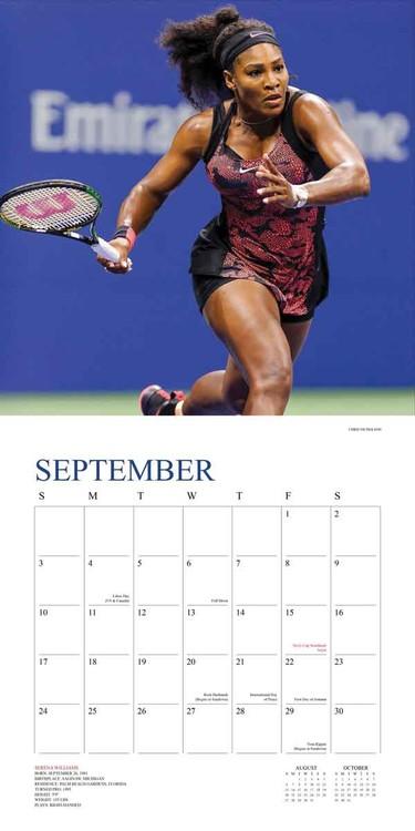 Calendário 2021 Tennis The U.S. Open em Europosters.pt