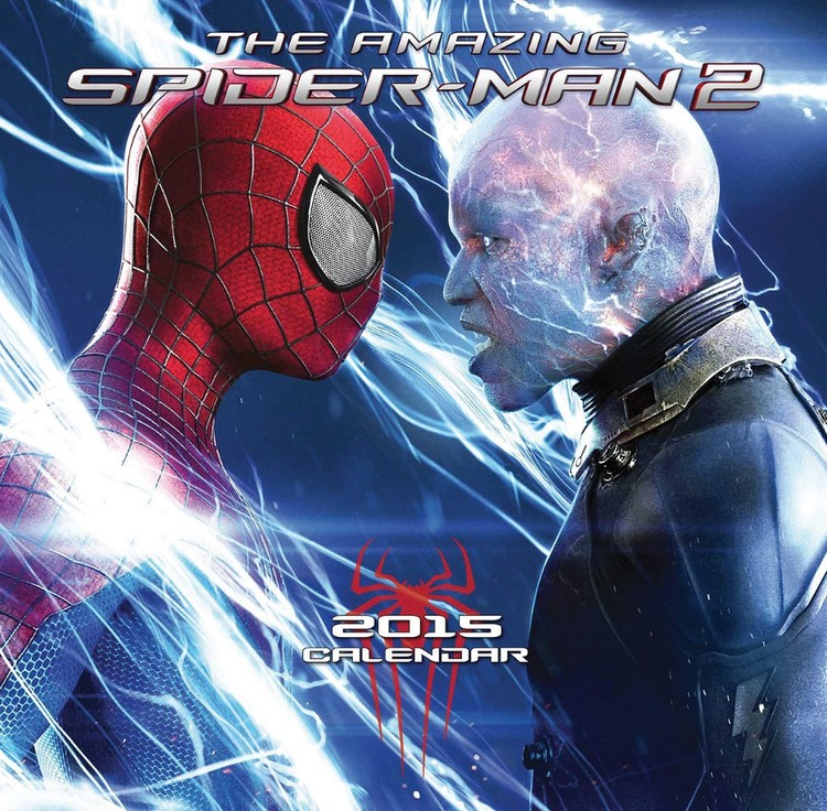 Calendário 2017 The Amazing Spiderman 2