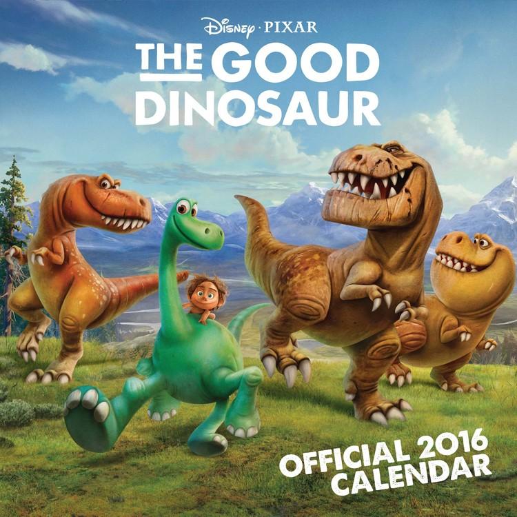 Calendário 2017 The Good Dinosaur
