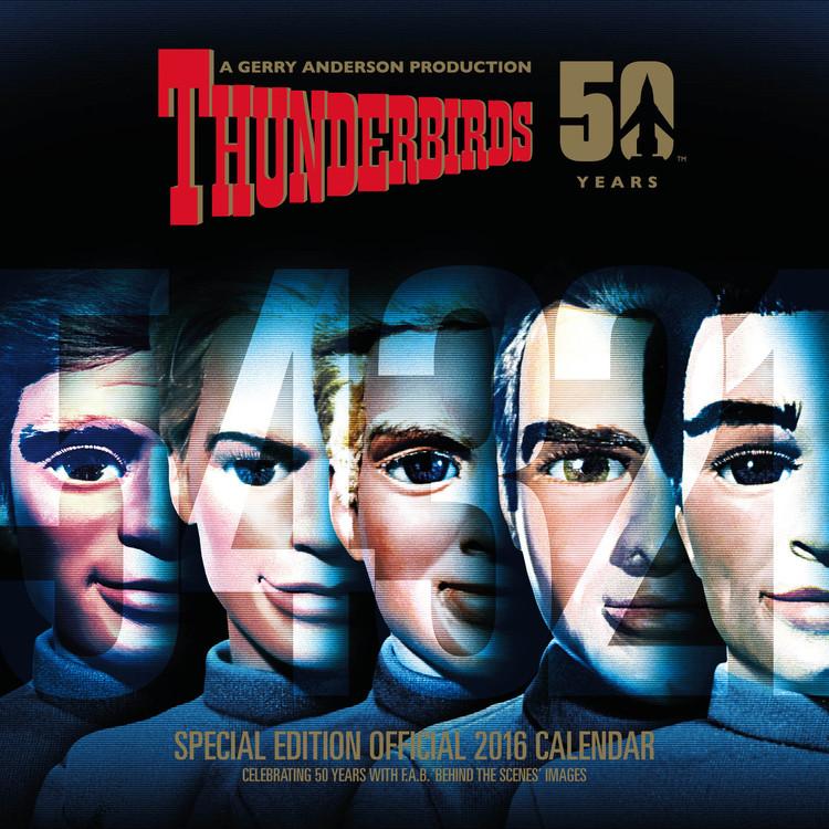 Calendário 2017 Thunderbirds - Classic Edition