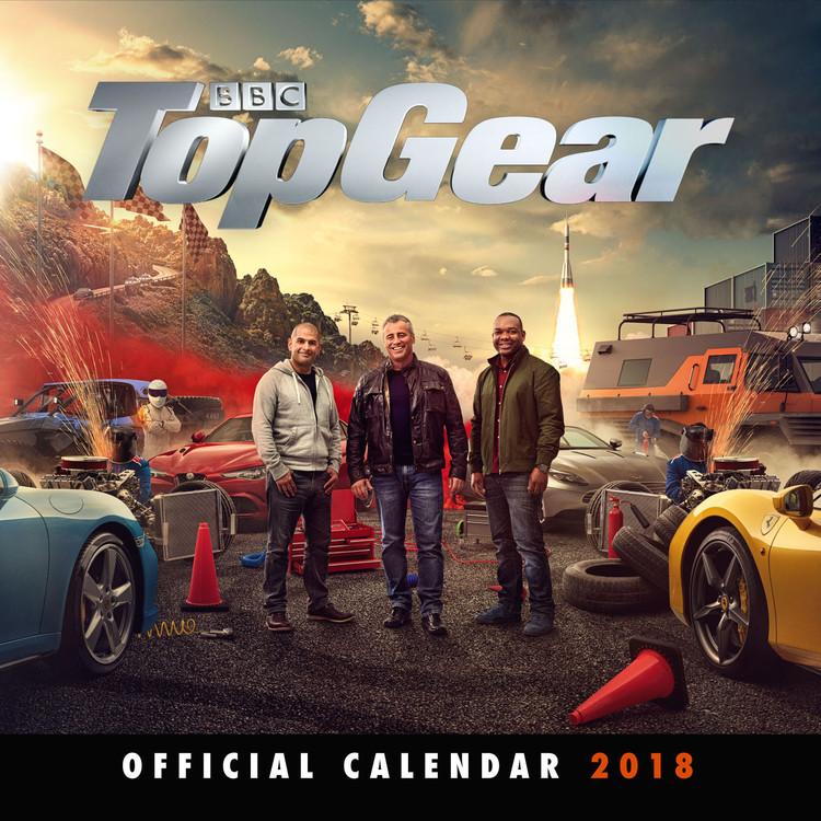 Calendário 2018 Top Gear