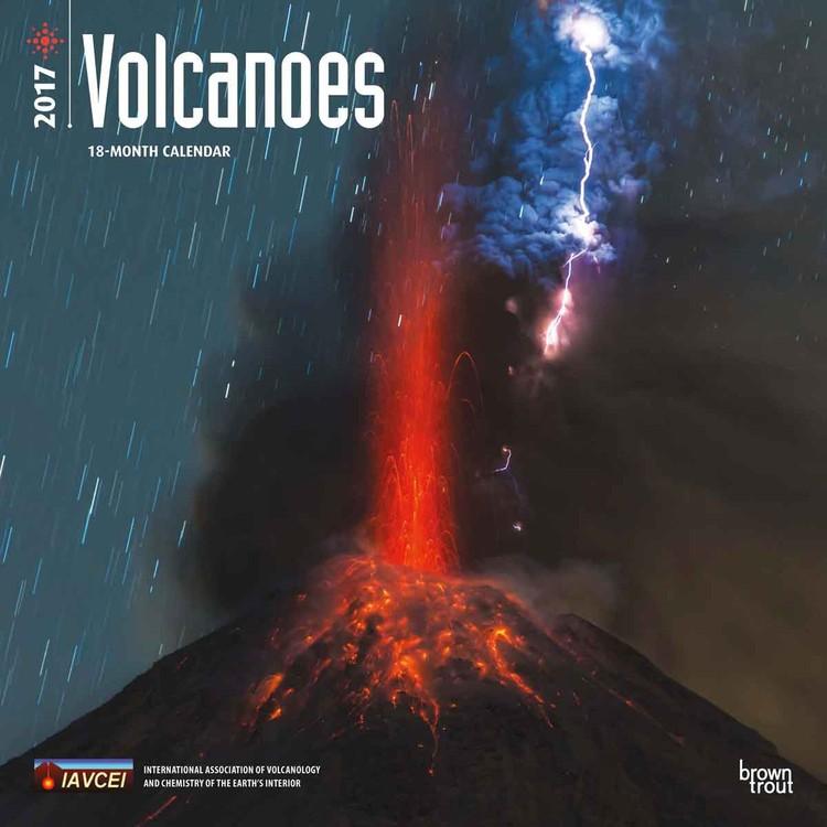 Calendário 2018 Volcanoes